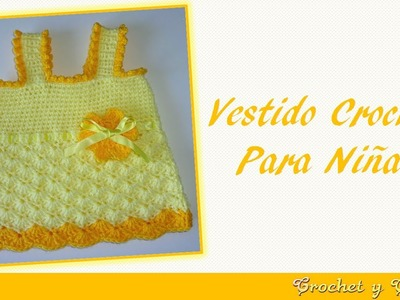 Vestido de verano para niñas tejido a crochet (ganchillo) – Parte 2