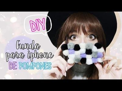 DIY: Funda para celular de pompones | Cecie
