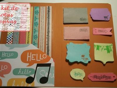 DIY: notas adhesivas para tu agenda