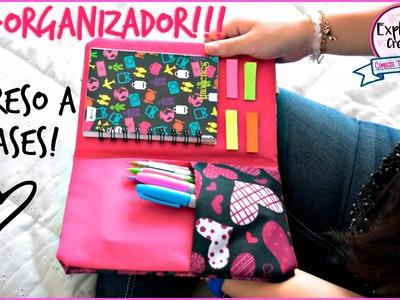 DIY- ORGANIZADOR. REGRESO A CLASES !!!♥