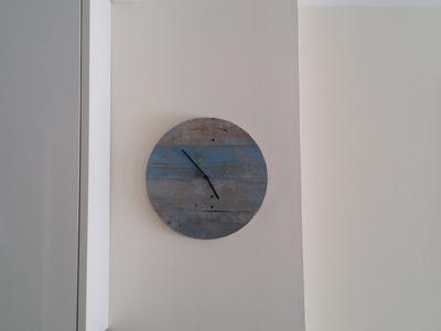 DIY Reloj con Palets