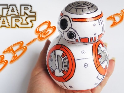 BB 8 Fofucho de Foamy o Goma eva. Diy  Craft