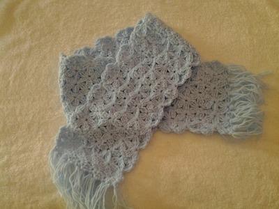 Bufanda para niñ@ a crochet #tutorial #diy #muyfacíl