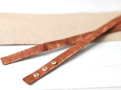Como imitar cuero con papel -DIY