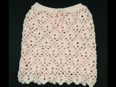 Crochet: Falda Angela (Para niñas de 2 años)