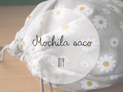 DIY MOCHILA SACO