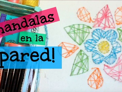 Mandalas en la Pared DIY! ♡ Dani Hoyos Art