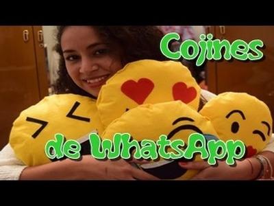 Como hacer cojín de emoticono de Whatsapp