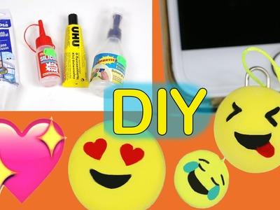 Cómo hacer gomas de borrar caseras con y sin silicona #emojicrafts