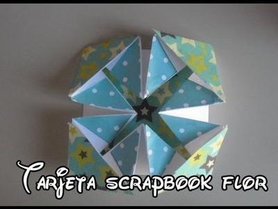 "Como hacer una tarjeta scrapbook servilleta ""Napkin card"" [Facil]"