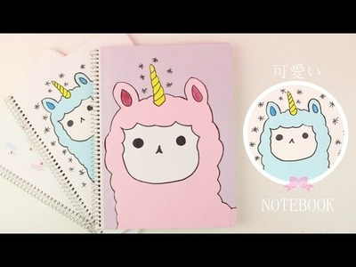 Decorar cuadernos Alpaca KAWAII | REGRESO A CLASES | Akari Beauty