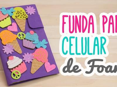 Fundas para Celular Casera de Foami y Cartón | Funda para Móvil Hecha a Mano| Catwalk ♥