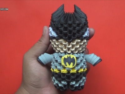 Origami 3D Mini Batman 2