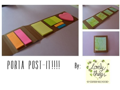 Porta post-it para la vuelta al cole!!-BTS-[Lovely things]