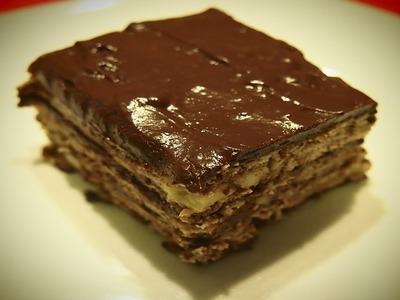 Tarta de Galleta y Chocolate | Receta Facil