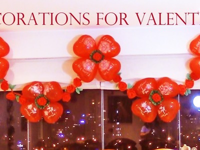 Como decorar con globos para fiestas- Best ideas for Valentines and Mother's Day