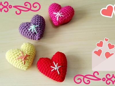 Corazones amigurumi para San Valentín - Amigurumi Heart