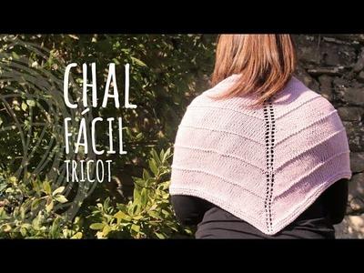 Tutorial Chal Fácil Tricot | Dos Agujas