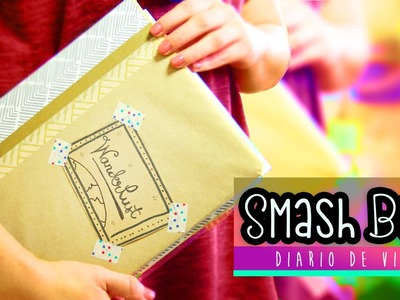 Album Scrapbook para armar: Diario de viaje ¡Ven conmigo! Smash book ✎ Craftingeek