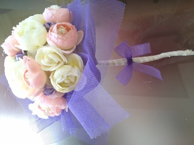 Com hacer un ramo de flores para damas de honor