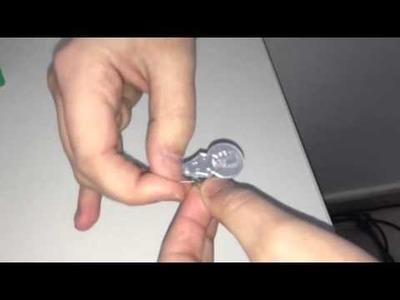 Como enhebrar una aguja con el enhebrador