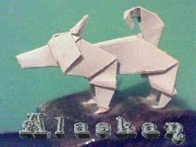Como hacer un origami de un perro.tutoriales epicos