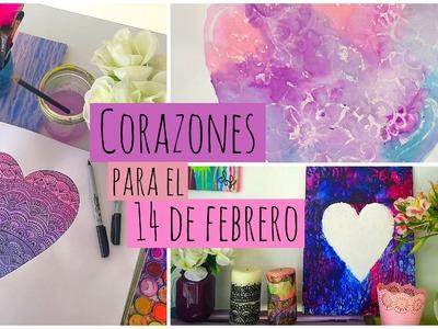 Corazones para día del amor y la amistad | Dani Hoyos Art