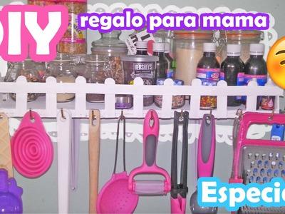 DIY DIA DE LAS MADRES ♥ Especiero ♥