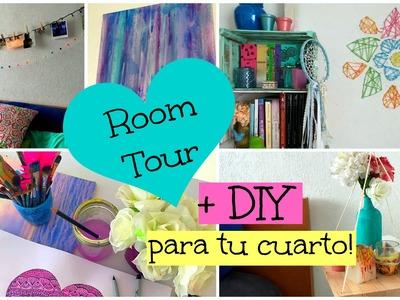 Manualidades para tu Cuarto + ROOM TOUR! ♡ Dani Hoyos Art