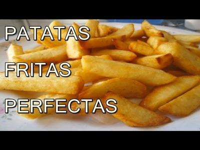 PAPAS O PATATAS FRITAS CRUJIENTES - Recetas de cocina Faciles Rapidas Y Economicas