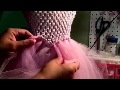Vestido de tul ( tutu dress )