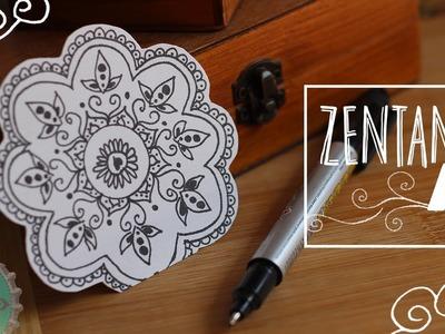 Básicos para Empezar a Dibujar Mandalas-ZentangleArt. Floritere