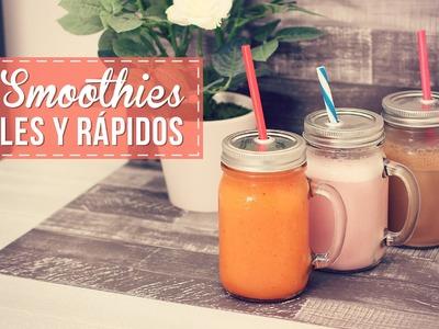 Bebidas fáciles y rápidas para todos los gustos!