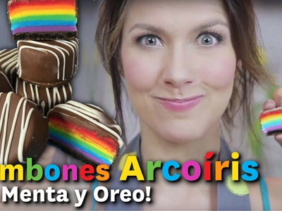 Bombones Arcoíris ¡SIN HORNO! de Menta y Oreo. Dacosta´sBakery