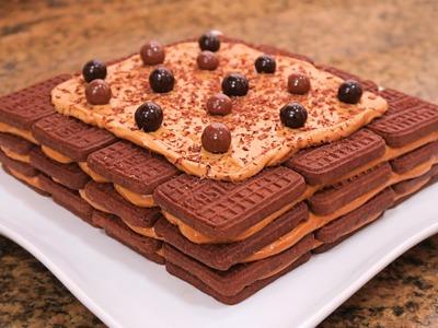 Chocotorta | Tarta de Galletas y Dulce de Leche sin Horno!