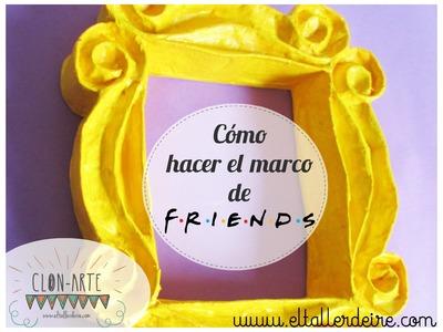Cómo hacer el marco amarillo de Friends