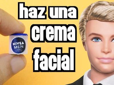 Cómo hacer una crema facial en miniature para tu  muñeca