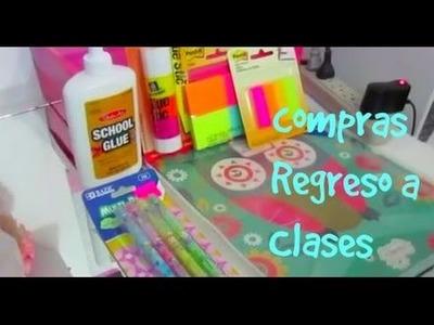 Compras Regreso a Clases, Maquillaje y Como Organizar tu Folder
