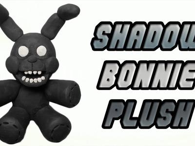 FNaF Fan Made   Shadow Bonnie Plush Clay Tutorial   Plastilina