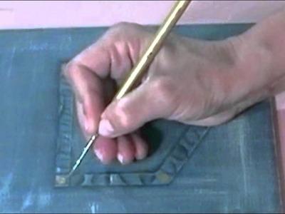 FPDA TV - Técnica imitación jean - Fundación Pintura Decorativa Argentina