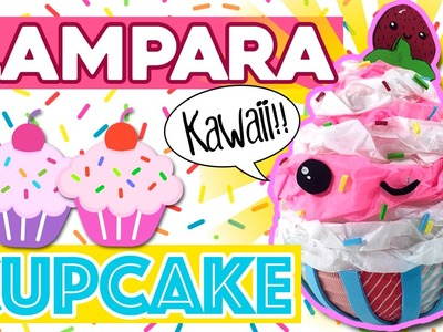 Lámpara CUPCAKE kawaii * Manualidades KAWAII para tu cuarto