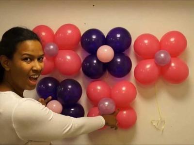 Pared en globos paso a paso