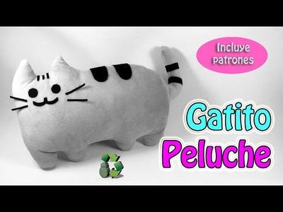 199. Manualidades: Como hacer gatito de peluche (Reciclaje) Ecobrisa