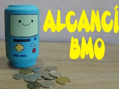 Alcancía de BMO hecha con latas | Candy Bu