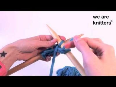 Aprender a tejer: ¿Cómo tejer punto del revés?