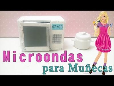 Como hacer MICROONDAS  para muñecas
