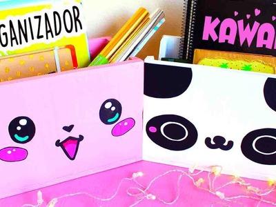 DIY Organizador Kawaii de CARTON - Mery