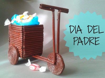 Dulcero en forma de un TRICICLO para PAPA - Día del Padre || Father´s Day - Ani