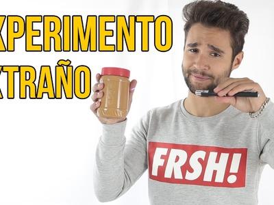 Experimento extraño con mantequilla de cacahuete (Experimentos Caseros)