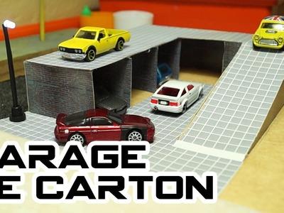 Garage de cartón [ENG SUB]